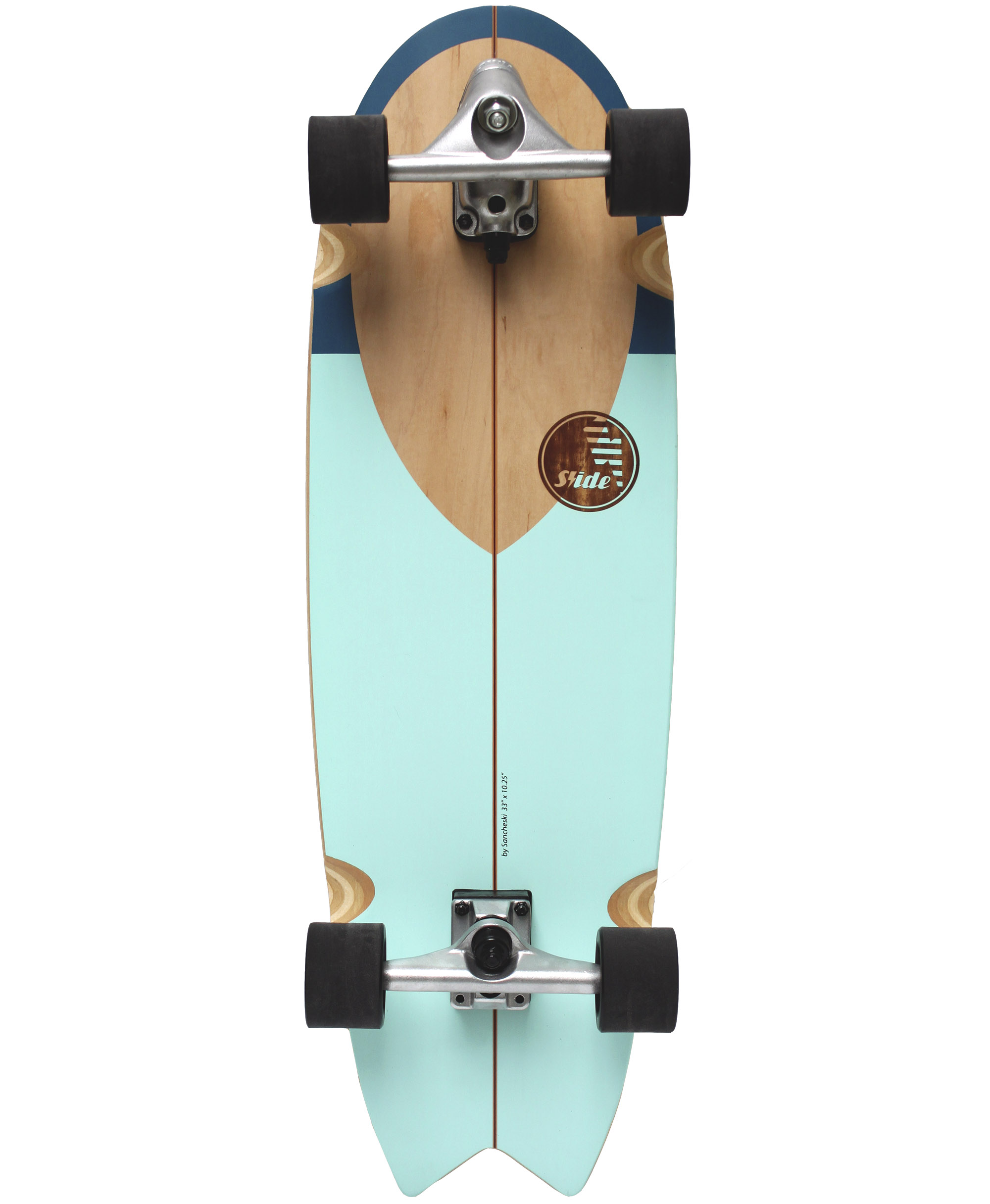 "Slide Surfskate Swallow Nose Rider 33/"""